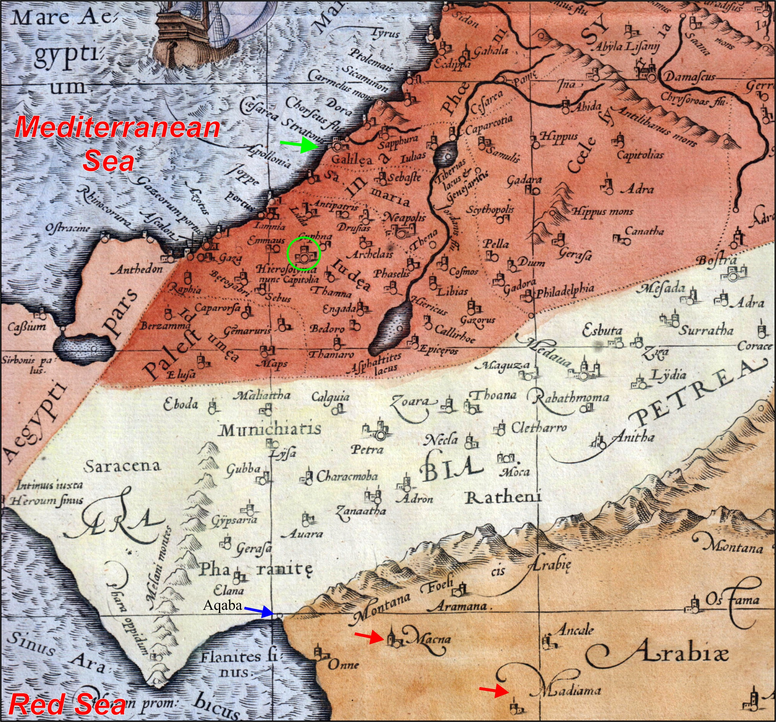 Proof of Mount Sinai in Arabia - Ancient Exodus